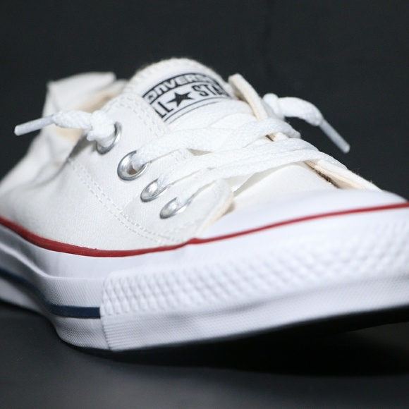 81b5f024aeaf Converse White Shoreline All Star Slip Ons. Listing Price   43